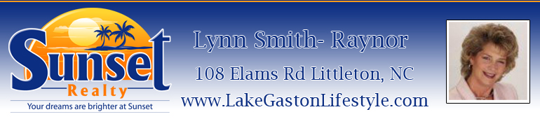 LAKE GASTON HOMES IN NORTH CAROLINA AND VIRGINIA